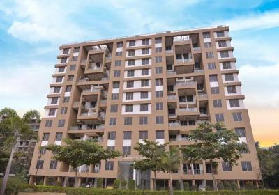 Gallery Cover Image of 800 Sq.ft 1 BHK Apartment for rent in Goel Ganga Estoria, Undri for 15000