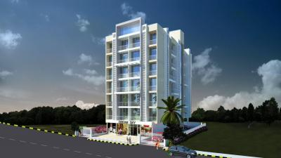 Gallery Cover Image of 650 Sq.ft 1 BHK Apartment for rent in Dream Sky, Ulwe for 8000
