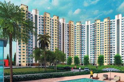 Gallery Cover Image of 584 Sq.ft 1 BHK Apartment for rent in Lodha Casa Bella Gold, Palava Phase 1 Nilje Gaon for 9500