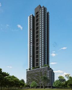 Gallery Cover Image of 1250 Sq.ft 3 BHK Apartment for rent in Spenta Alta Vista, Chembur for 50000
