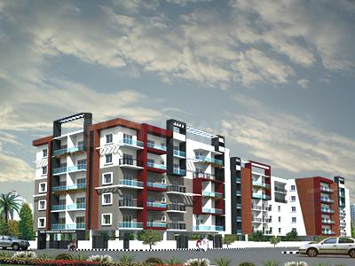 Gallery Cover Image of 1465 Sq.ft 3 BHK Apartment for rent in Vandana Sarovar, HSR Layout for 30000