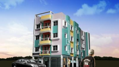 Gallery Cover Image of 900 Sq.ft 1 BHK Apartment for rent in Shristi Garia, Garia for 8000
