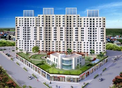 Gallery Cover Image of 1530 Sq.ft 3 BHK Apartment for buy in Hubtown Redwood And Rosewood, Mira Road East for 14400000
