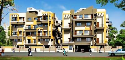 Gallery Cover Image of 945 Sq.ft 2 BHK Apartment for rent in Saheel Elegance, Thergaon for 18000