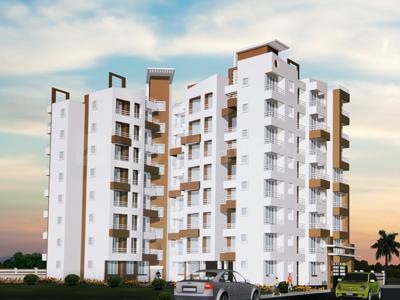 Gallery Cover Image of 680 Sq.ft 1 BHK Apartment for rent in Shubh Jyot, Badlapur East for 4000