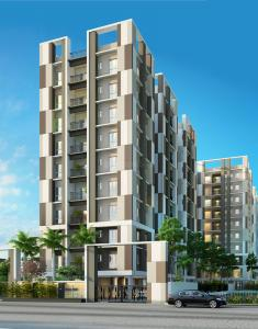 Gallery Cover Image of 855 Sq.ft 2 BHK Apartment for buy in Gurukul Heights, New Town for 4469000