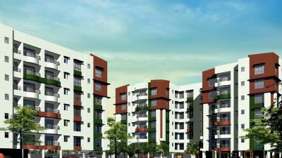 Gallery Cover Image of 1340 Sq.ft 3 BHK Apartment for buy in Jain Dream Residency Manor, Rajarhat for 6800000