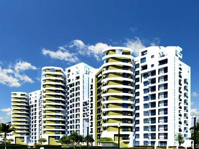 Gallery Cover Image of 494 Sq.ft 1 RK Apartment for rent in Logix Blossom Zest, Sector 143 for 13000