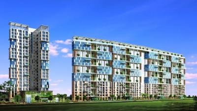 Gallery Cover Image of 3200 Sq.ft 4 BHK Apartment for rent in Exotica, New Alipore for 150000