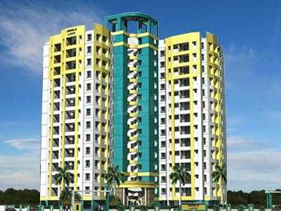 Gallery Cover Image of 975 Sq.ft 2 BHK Apartment for rent in Jamals Luxor, Jeevan Prakash Nagar for 15000
