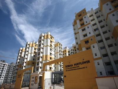 Gallery Cover Image of 1717 Sq.ft 3 BHK Apartment for rent in Sobha Mayflower, Bellandur for 30500