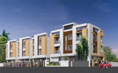 Gallery Cover Image of 1100 Sq.ft 3 BHK Apartment for rent in AKM Priyam Apartments, Gerugambakkam for 14000