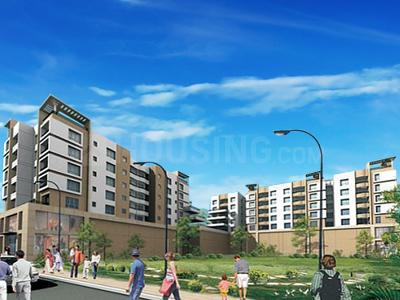 Gallery Cover Image of 1650 Sq.ft 3 BHK Apartment for rent in Natural Haldiram Enclave, Kaikhali for 23000
