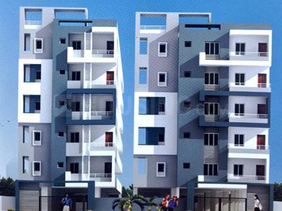 Gallery Cover Image of 1450 Sq.ft 3 BHK Apartment for rent in Srinivasam, Madhura Nagar for 27000