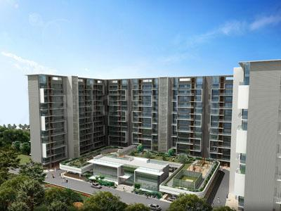 Gallery Cover Image of 675 Sq.ft 1 BHK Apartment for buy in Akshar Altorios, Hadapsar for 6000000