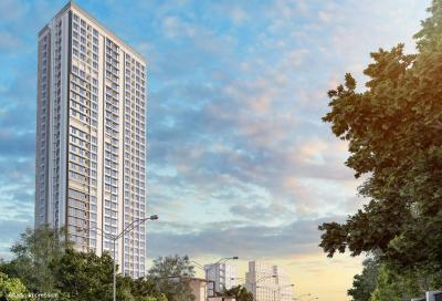Gallery Cover Image of 409 Sq.ft 1 RK Apartment for buy in Mayfair Codename Sara Powai, Vikhroli West for 5700000