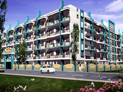 Gallery Cover Image of 1169 Sq.ft 2 BHK Apartment for buy in Mahaveer Rhythm, Hulimavu for 7000000