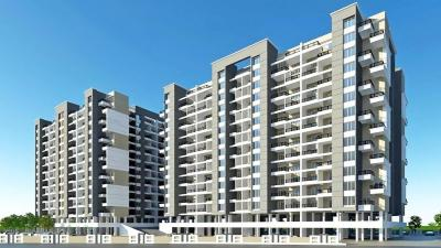 Gallery Cover Image of 680 Sq.ft 1 RK Apartment for rent in 38 Park Majestique, Undri for 10500