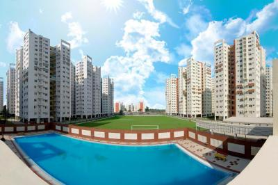 Gallery Cover Image of 796 Sq.ft 2 BHK Apartment for rent in Eden City Maheshtala, Maheshtala for 8500