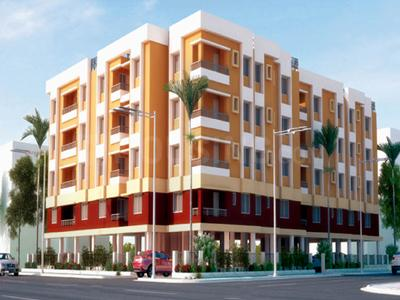 Gallery Cover Image of 500 Sq.ft 1 BHK Independent House for rent in Liberty J S Apartment, Madhyamgram for 10700