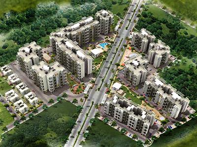 Gallery Cover Image of 1250 Sq.ft 2 BHK Apartment for buy in Mittal Sun Universe, Narhe for 8000000