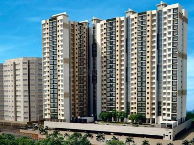 Gallery Cover Image of 850 Sq.ft 2 BHK Apartment for rent in Ravi Gaurav Aster, Mira Road East for 13000