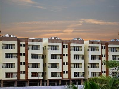 Gallery Cover Image of 578 Sq.ft 1 BHK Apartment for rent in Anand Aashritha, Perungudi for 12500