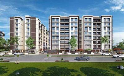 Gallery Cover Image of 1440 Sq.ft 3 BHK Apartment for buy in Helios, Zundal for 4750000