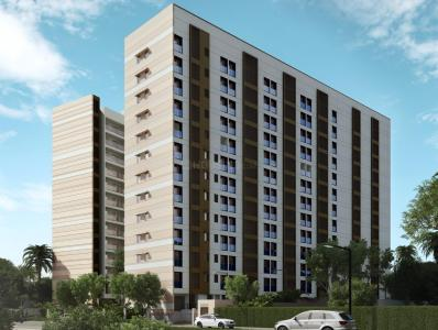 Gallery Cover Image of 780 Sq.ft 1 BHK Apartment for buy in Mahindra Vivante Building Number 1 And 2, Andheri East for 18500000