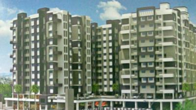 Gallery Cover Image of 650 Sq.ft 1 BHK Apartment for rent in Lunkad Anand Tarang B1 And B2, Charholi Budruk for 9000