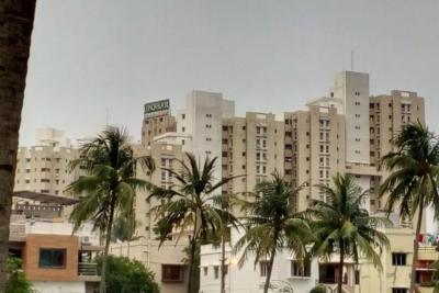 Gallery Cover Image of 1750 Sq.ft 3 BHK Apartment for rent in Ambuja Upohar The Condoville, Pancha Sayar for 33000