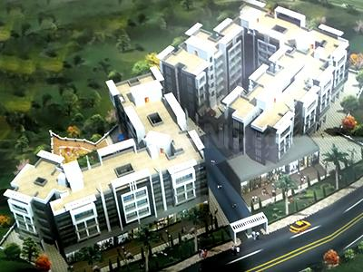 Gallery Cover Image of 670 Sq.ft 1 BHK Apartment for rent in Om Residency, Nevali for 5000