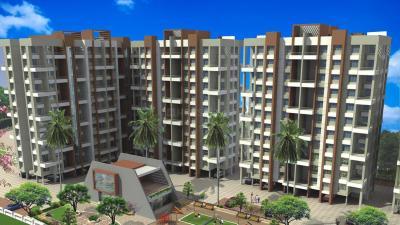 Gallery Cover Image of 800 Sq.ft 1 BHK Apartment for rent in Prime Swapnapurti, Handewadi for 8000