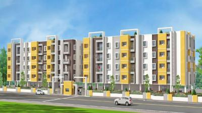 Gallery Cover Image of 863 Sq.ft 2 BHK Apartment for rent in Saradeuz Paradise, Perumbakkam for 10000