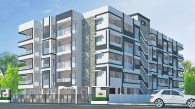 Gallery Cover Image of 2000 Sq.ft 3 BHK Apartment for buy in Metrocorp Lotus Heights, Hebbal for 9700000