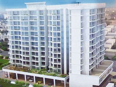 Gallery Cover Image of 670 Sq.ft 1 BHK Apartment for buy in Radiant Ravi Rachana, Greater Khanda for 6400000