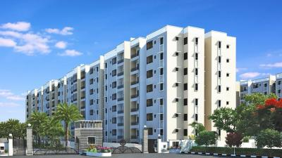 Gallery Cover Image of 1300 Sq.ft 3 BHK Apartment for rent in Shriram Smrithi, BEML Cooperative Society Layout for 12000