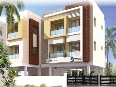 Gallery Cover Image of 1300 Sq.ft 2 BHK Apartment for rent in Aaradhana II, Chromepet for 35000