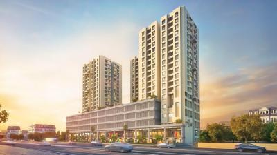 Gallery Cover Image of 345 Sq.ft 1 BHK Apartment for rent in Amar Serenity, Pashan for 15000