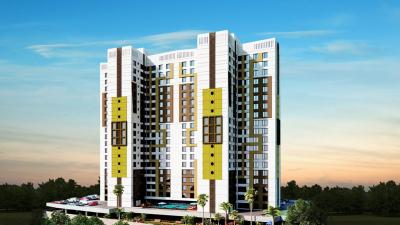 Gallery Cover Image of 1000 Sq.ft 2 BHK Apartment for rent in Mantri Serene, Goregaon East for 34000