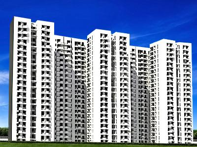 Gallery Cover Image of 935 Sq.ft 1 BHK Apartment for buy in Jaypee Pavilion Heights, Sector 128 for 3500000