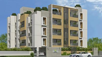 Gallery Cover Image of 1375 Sq.ft 3 BHK Apartment for rent in Pushkar Swastik Square, Padi for 30000