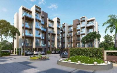 Gallery Cover Image of 819 Sq.ft 2 BHK Apartment for rent in Sai Prasad Garden Phase 1, Nevali for 12000