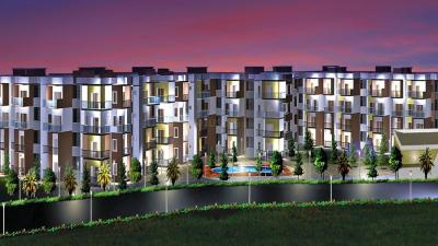 Gallery Cover Image of 1214 Sq.ft 2 BHK Apartment for rent in Isha Misty Green, Chansandra for 17000