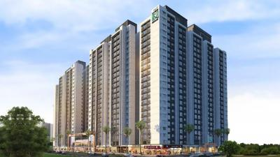 Gallery Cover Image of 347 Sq.ft 1 BHK Apartment for buy in Omkar Lawns And Beyond Phase 1 Omkar International District, Jogeshwari East for 8300000