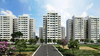 Gallery Cover Image of 540 Sq.ft 1 BHK Apartment for buy in Godrej Vrindavan, Gota for 2300000