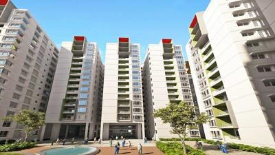 Gallery Cover Image of 1370 Sq.ft 3 BHK Apartment for rent in One Kosmos, Nallagandla for 20000