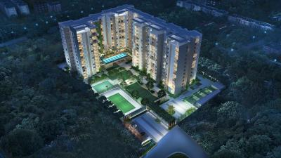 Gallery Cover Image of 2150 Sq.ft 3 BHK Apartment for rent in DNR Reflection, Bellandur for 47000