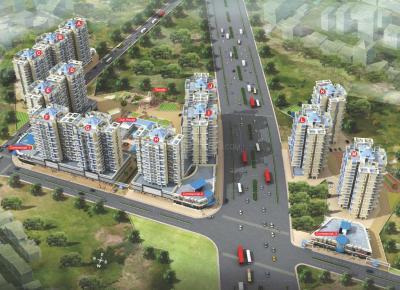 अरिहंत सिटी फेज II के बिल्डिेग