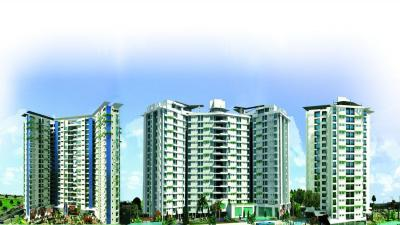 Gallery Cover Image of 1380 Sq.ft 2 BHK Apartment for buy in Chandra Panorama, Golf City for 6500000